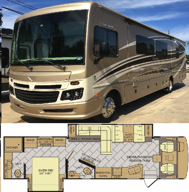 A 5 Our Most Luxurious Class A Gas Motorhome Cypress Rv